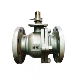 2-PC SS Ball Valve Flange End Featured