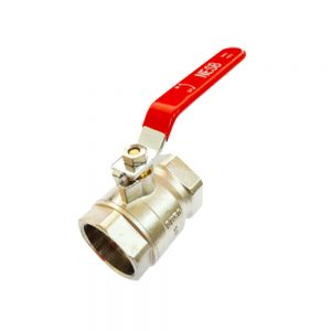Chrome Brass Italy Ball Valve Featured