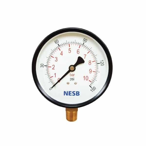 General Pressure Gauge Brass Bottom Connection