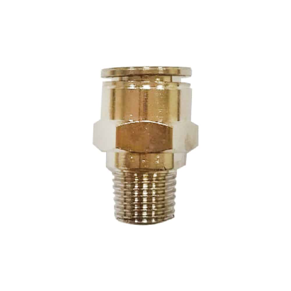 Nickel Plated Straight Fitting
