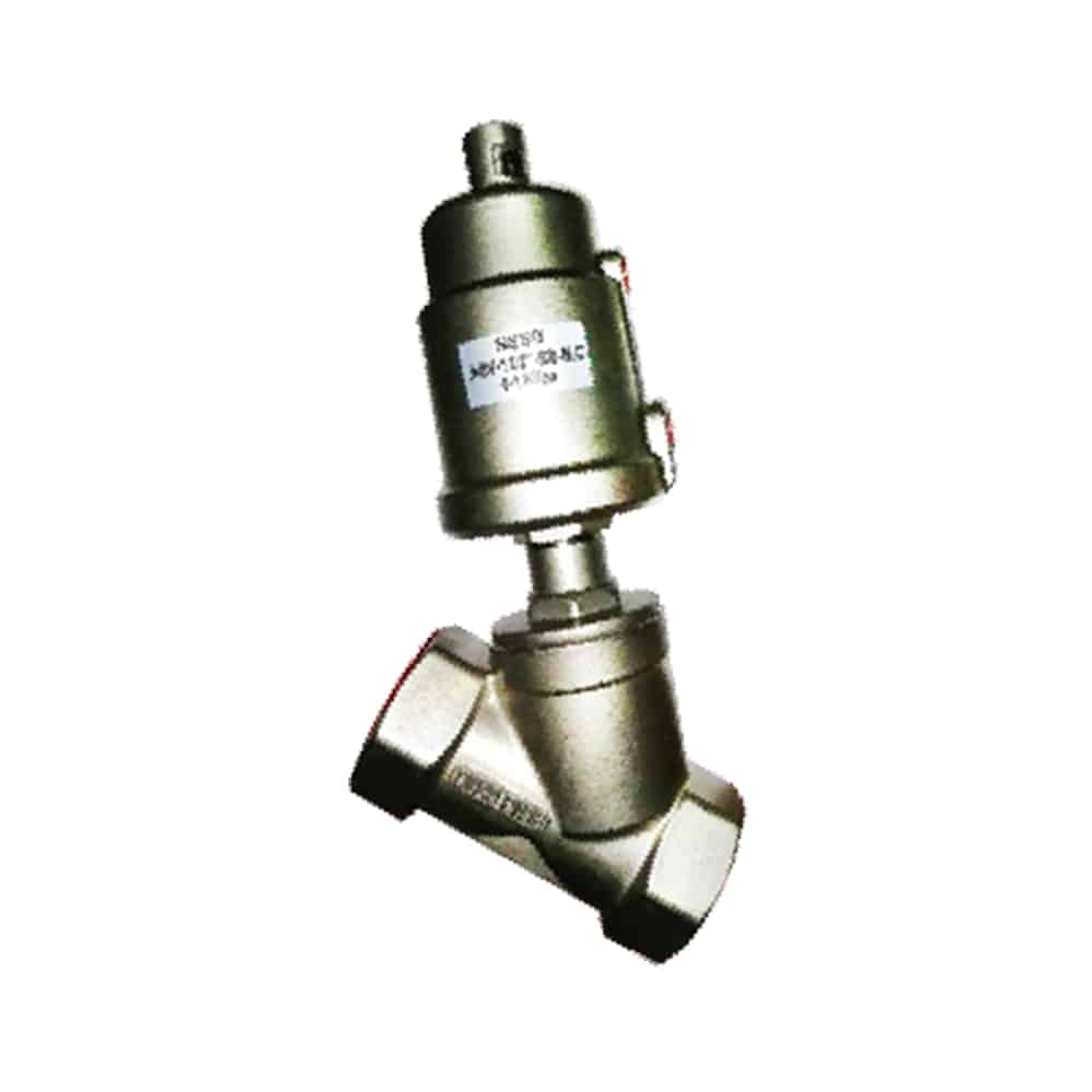 SS Angle Seat Valve BSPT Featured